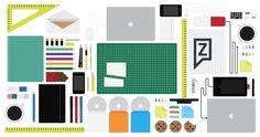 Servicios | Zinegraph #illustration #branding