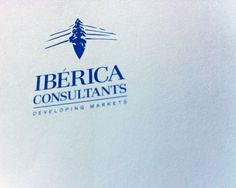 IBERICA CONSULTANTS on the Behance Network #logotype #branding #stationery #bussines #cards