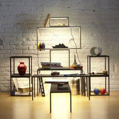 Dezeen » Blog Archive » BlancoWhite by Estudi Arola for Santa & Cole #lamp #table