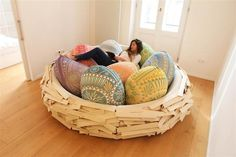 Giant Birdsnest for Creating new ideas OGE Creative Group - www.homeworlddesign.com (3) #ideas #creativity #home