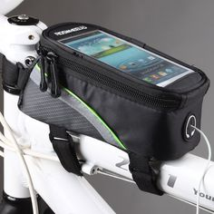 Roswheel Bike Frame Front Tube Bag #tech #flow #gadget #gift #ideas #cool