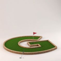 3D Typography by @jakuben on Instagram. #3d #typography #letter #g #flag #put #jakuben #type