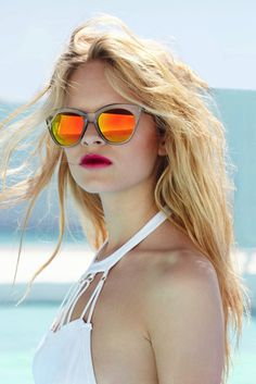 Anna Ewers #glasses #model #sexy #lingerie #girl #lookbook #campaign #photography #bikini #fashion