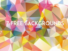 7 Free Low Poly Backgrounds