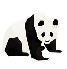 Mr Panda #illustration #animal #vector #gif #panda