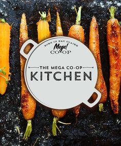 Logo Design for Mega Co-op for Kitchen