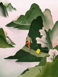 scape.jpg 594×792 pixels #illustration #gracialam