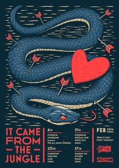 It Came From the Jungle – February