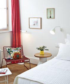 Hôtel des Galeries — Brussels #bedroom