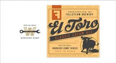 Brand Identity | Fullsteam Brewery | Helms Workshop #branding #typography