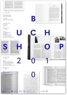 UdK Buchshop — Trend List #blue #letterspace #typography