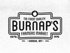 Burnap\'s Farmers Market Badges