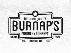 Burnap\'s Farmers Market Badges