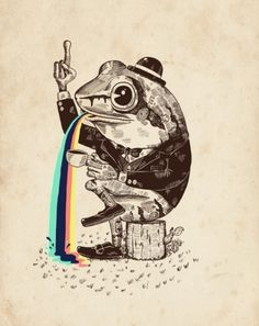 Strange Animals on the Behance Network #illustration