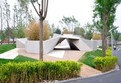 Sunken Garden by Plasma Studio - #architecture, #outdoor, #architecture, #garden, #landscaping,
