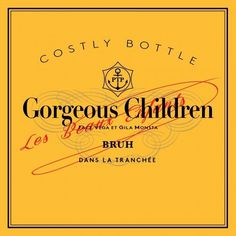New Music: Gorgeous Children 'Costly Bottles' | THIRD LOOKS #music #cover #album