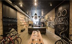 Handsome Cycles / Retail Store in Minneapolis by Marina Groh #bicycle #knock #store #bicycles #inc #marina #bike #retail #minneapolis #groh