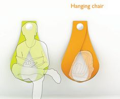 Hanging Chair #interior #creative #modern #design #furniture #architecture #art #decoration
