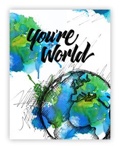 You're the World on Behance