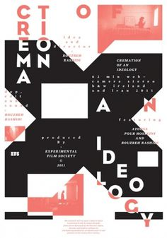 Buamai - Cremation of an Ideology : pouya's online portfolio #grid #poster #pouyaahmadi