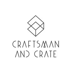 Craftsman and Crate on Behance #geometry #nicholas #branding #crate #gifting #corporate #christowitz #identity #and #logo #craftsman