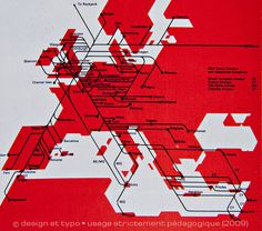 Graphis Diagrams | Une histoire de l'infographie (2/3) | design et typo #modernism #map