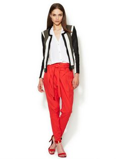 Voyage Cropped Pant #red #pants #gilt