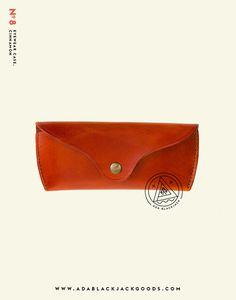 No. 8, Eyewear case, Cinnamonwww.adablackjackgoods.com #product #shot