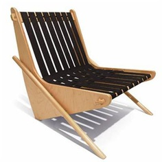 boomerang chair by Richard Neutra produced by House Industries - click to enlarge