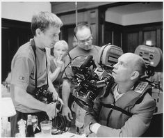 John Malkovich & Spike Jonze #jonze #malkovich #photography #john #film #spike