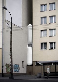 Keret House / Centrala #renderings #architecture #urbandesign #facades