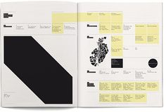FOR ALATC: Event calendar for the city #grid #layout #yellow #black