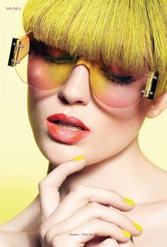 YELLOW | Volt Café | by Volt Magazine #styling #caf #design #graphic #volt #fashion #editorial #magazine #beauty