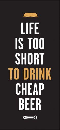 La Consigne Beer Chope #type #print
