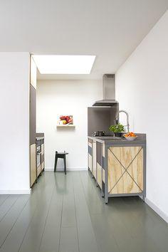 Constructive Kitchen by Studio Mieke Meijer #minimal kitchen