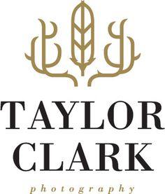 Taylor Clark Photography logo. #logo #design #identity #photography #mysterymeatdesign #mysterymeat