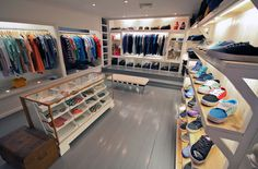 ACADEMY CLOTHING Mitchell Clements #interior #shop #academy #clothing