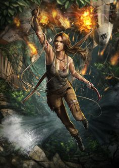 Tomb Raider Reborn by ~DeivCalviz on deviantART #tomb #raider