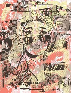 The Art of Greg Gossel #posters #burlesque #of #north #america #art prints #screen #print #greg gossel