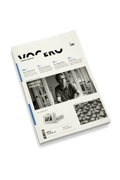 Vocero on Behance #cover #book