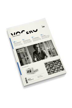 Vocero on Behance #cover #book