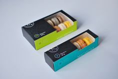 Kitchening & Co. Macaron Packaging — The Dieline #packaging
