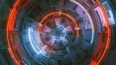 everydays - september 2014 Mike Winkelmann   Behance #tech #machine #render #fi #sci #space #spaceship #cinema #4d