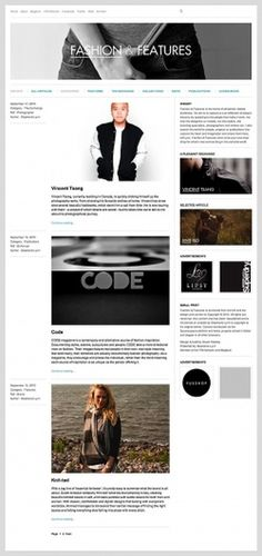 Fashion & Features on Web Design Served #dgfdgd
