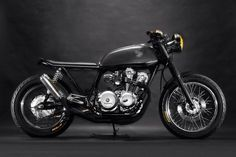The Pursuit Aesthetic: Photo #cafe #black #racer