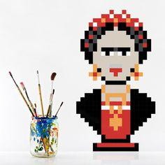 puxxle — Frida #kahlo #puxxle #puzzle #pixel #art #frida