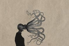 ``````/ | Flickr - Photo Sharing! #illustration #octopus