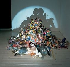 Adholes Blog Tim Noble and Sue Webster #shadow