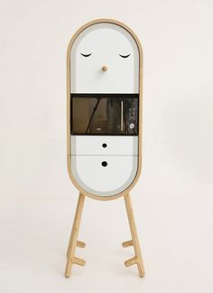 Capsular Microkitchen by LO-LO_4 #kitchen #living #compact