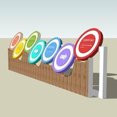 Signage   Sign Design   Wayfinding   Wayfinding signage   Signage design   Wayfinding Design   儿童指示牌SU模型
